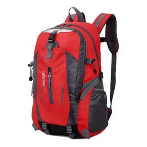 Multi-função Men Backpack Hot Venda de Alta Qualidade Waterproof Nylon Bag Moda feminina Laptop mochilas Schoolbag Caminhada Acampamento Suba