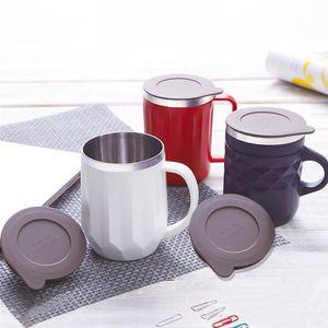 400ml Coffee Mug 304 stainless Steel Mug with Handle Insulated Vacuum Coffee Mug Water Juice Cold Wine Tumbler