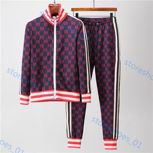 Gucci Herrensportbekleidung marque luxe Kleidung und Hosenanzug Sportbekleidung Traje deportivo Sweatshirt beiläufige Hosen Jogging