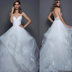 Strapless Wedding Dresses Arabic Dubai Bridal Gowns with Belt Cheap Vestido De Novia Robe De Mariee