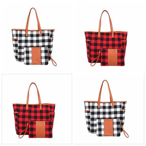 Totes Plaid Purse Handbag Red Black Check Duffle Travel Leopard Handbags Buffalo Weekend Bags Sunflower Designer Shoulder Wallet D Okekd