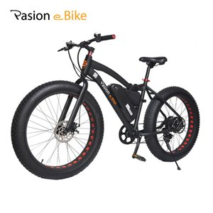 """wholesale 48V 500W Powerful Electric Fat Bike 48V Lithium Battery E bicycle 26""""X4.0 Off Road Electric Bicycle Mountain Bike"""