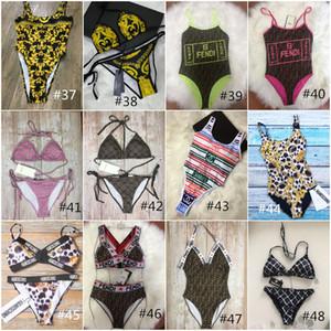 Atacado de alta qualidade 72 Styles Bikini Swimwear Swimsuit Bandage Sexy trajes de banho Sexy almofada de duas peças de banho de três peças