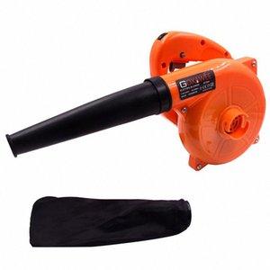 GOXAWEE 220 V 6 Vitesse électrique Blower vide Blowing Collecteur de poussière feuille main ventilateur 2 en 1 Nettoyeur ventilateur d'ordinateur 1.4m Câble 8Z1m #
