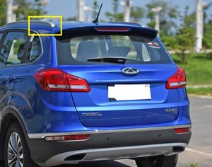 1pcs Rack Roof Luggage rack guard Silver color plasitc Cover for Chinese CHERY TIGGO5 SUV Auto car motor parts