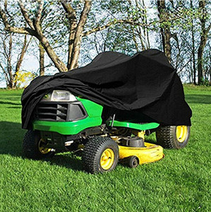 Household Merchandises Modern Style USA Black Garden Tractor Heavy Duty Riding Lawn Mower Cover Waterproof Protector