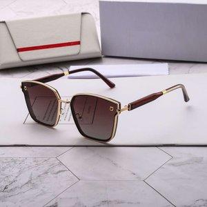 S-F Letters Frauen Sonnenbrillen Marken-Sonnenbrille Frau Strand Goggle Brille UV400 8023 4 Farben-Qualität mit Box