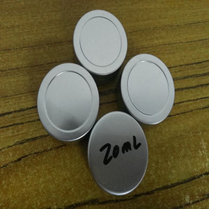 20g empty aluminium cream jars,cosmetic case jar,20ml aluminum tins, metal lip balm container box