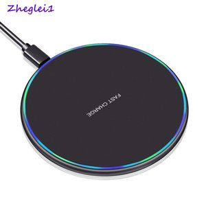 Wireless Charger + Tipo C connettore per Samsung Galaxy 5G A71 A51 5G M11 di ricarica rapida Pad Induction Charger Wireless