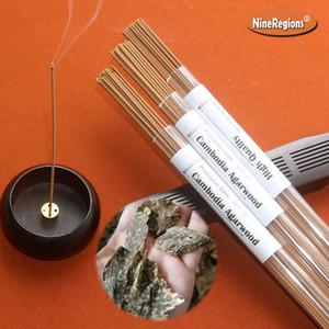 10g Qualitäts-Kambodscha Oudholz Räucherstäbchen natürliches aromatischer Duft nach Hause incenso Yoga liefert meditative süßen Duft Verehrungszeremonie