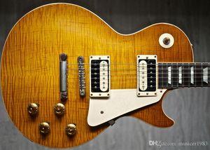 Kundenspezifische elektrische Gitarre, One Piece Body One Piece Hals, Qualität HB CST16112603 A