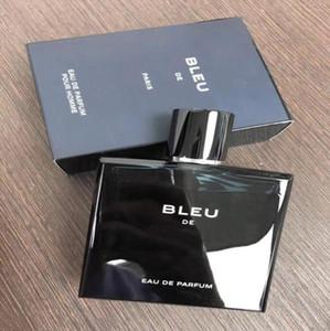 남자를위한 뜨거운 판매 무료 배송 2018 핫 새로운 블루 향수는 오랫동안 좋은 냄새 높은 향기를 지속와 100ML