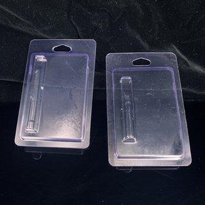 logotipo personalizado para el envase vaporizador pluma cartuchos de plástico Clamshell Empaquetado de la ampolla de cristal Ecigs 510 atomizador de cerámica paquete al por menor