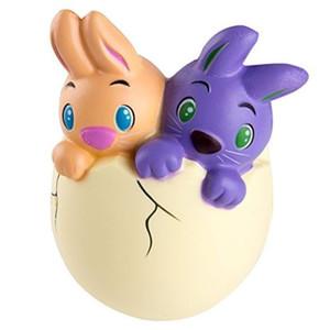 Casais Coelho bonito Jumbo mole Toy Coelho ovo mole creme perfumado macio Simulação Páscoa ambiente amigável Materiais