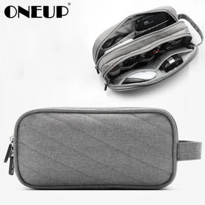 ONEUP Travel Gadget Organizer Bag Portable Digital Cable Bag Electronics Accessories Storage carry Case Pouch USB Power Phone