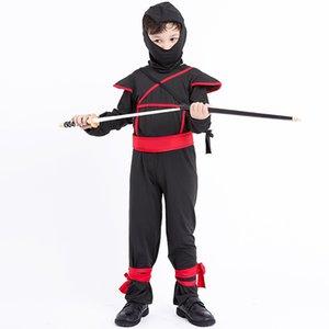 Cadılar bayramı Nakliye Cosplay Japon Karnaval Bodysui Savaşçı Kostüm Üniforma Ninja Oyunu Ücretsiz Çocuklar Için Ücretsiz Solder Suit Maskeli Savaş Knight Uxld