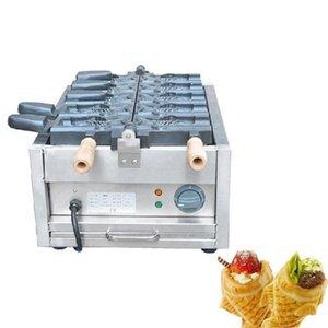 BEIJAMEI Elektrik Taiyaki Waffle makinesi / 110V 220V dondurma Taiyaki makinesi / Ticari dondurma külahı Taiyaki yapımcısı
