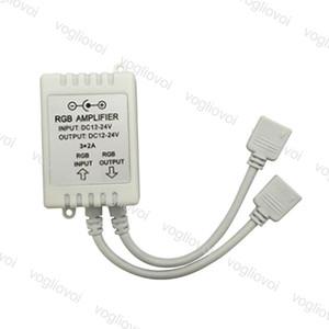 LED RGB усилитель Box DC12-24V 6 3 Channel Strip питание повторитель Двойной выход Освещение Аксессуары для SMD 5050 3528 Полоски DHL