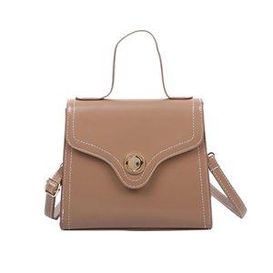 Женщины Tote Bag Solid Color Small Square Bag Crossbody сумки для женщин Hasp телефон кошелек сумка кожаные сумки bolso mujer