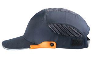 Bump Cap Head Protection Segurança do Trabalho Hat respirável Segurança Anti-impacto Capacetes Cap Leve condutor protector solar de alta qualidade