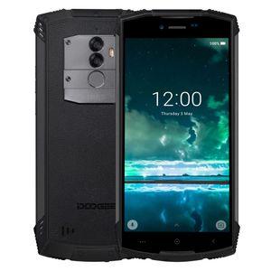 Doogee S55 Üçlü Prova Telefon, 4GB + 64 GB 5500mAh batarya, Çift Geri Kameralar, Parmak İzi Tanıma, 5.5 inç Android 8.0