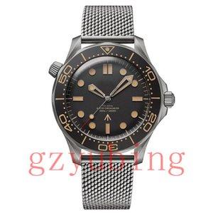 Top Uhr Männer Herren Limited Edition Skyfall Herren Meister James Bond 007 Diver 300M Uhren Marke 50th Stahl Armbanduhren