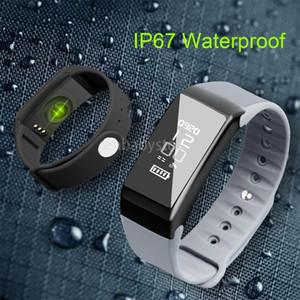 Smartband F1 Smartband Newest Smart Wristbands Sport Band Bracelet Fitness Tracker Heart Rate Monitor Ip67 Waterproof Universal Style