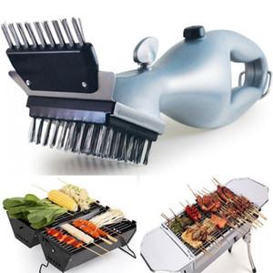 Barbecue in acciaio inossidabile spazzola di pulizia esterna Griglia detergente con treno a vapore Accessori Cooking Tools DHL WX9-1392