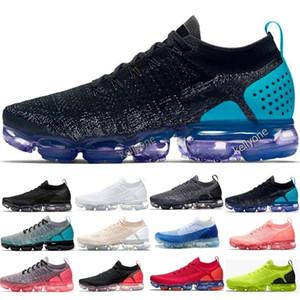 2018 Buharlar Ucuz Satış Sneakers Plyknit Koşu Ayakkabıları Erkekler Yeşil Eğitmenler Tenis 2018 2.0 Ayakkabı Adam Spor Otantik Maxes Boyutu 5.5-11