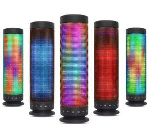 مكبرات صوت Bluetooth M10 LED السماعة اللاسلكية الأيدي المحمولة مكبر الصوت المجاني Atmosphere Bluetooth Speaker اللاسلكية بلوتوث ستيريو المتكلم