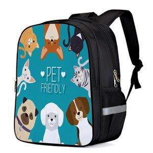 Evcil Hayvan Dostu Moda Sırt Notebook Sırt Çantası Laptop Sırt Çantası Spor Okulu Çantaları Seyahat Çantaları Çocuk Leke