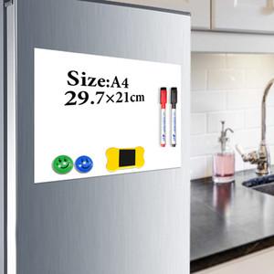 Yibai Magnet lavagna A4 morbido lavagna magnetica, disegno Dry Erase e la registrazione di bordo Per frigorifero del frigorifero con il regalo libero