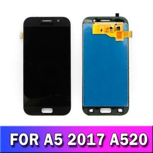 Galaxy A5 2017 A520F A520 / DS Dokunmatik Ekran Ekran Sayısallaştırıcı Meclisi için Samsung Galaxy A5 İçin Dokunmatik panel Yedek