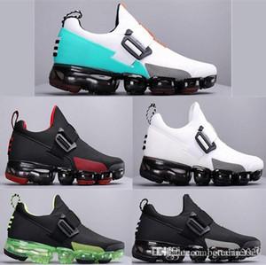 exécuter l'utilitaire Bandage vapeur atmosphérique Pad Plus de jogging hommes Chaussures de course Wathet Noir Blanc 2019 Chaussures de sport en plein air