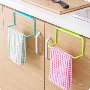 주방 주최자 수건 걸이 벽걸이 홀더 욕실 캐비닛 찬장 걸이 선반 부엌 부속품 온수 공급