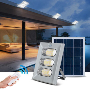 Edison2011 6PCS / CTN في الهواء الطلق الصمام الشمسية الكاشف البير 100 واط 150 واط ضوء الفيضانات الشمسية للماء IP67 أضواء حديقة الشمسية مع جهاز التحكم عن بعد
