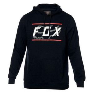 FOX 2020 spring and autumn fleece hoodie off-road motorcycle riding racing sweater bike downhill sweater