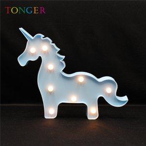 Mignon 3D Veilleuse Décoration LED Sculpt Lampe Fournitures de Fête 3D Enfants Chambre Home Wall Pour L'éclairage Giraffe Forme 2019