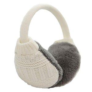 Мужской Трикотажные Earmuffs Искусственный Furry Earmuffs Winter Открытый Путешествие