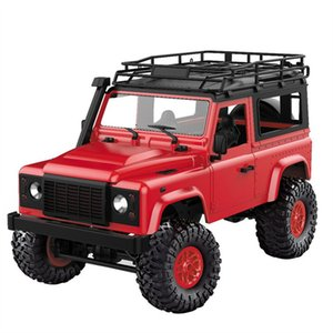 MN-90 1 12 2.4G 4WD 15KM h Remote Control RC Car 2 Body Shell & Front LED Light Rock Crawler Truck RTR Toy Kids Boys Gift