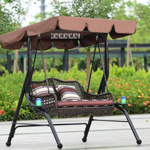 High-quality A66 Double-person Swing Household Hammock Indoor Balcony Lazy Hammock Polyester Fabric Outdoor Swing Bearing 200kg