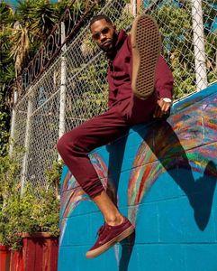 Hülsehoodies 2ST Sets Hiphop Straße Mens-beiläufige Sport-Anzüge Solide Herren Designer Tracksuits Mode lange