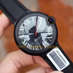 Montre de luxe CAR BALLON WSBB0015 Cadran Bleu Saphir Entraînement De Mouvement mécanique automatique Hommes Montres-bracelets mode de luxe montre