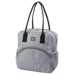 Juillet'S DOSAC Déjeuner Sac grande capacité de stockage portable frais Épaissir Bureau scolaire Lunch Box