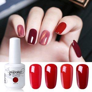 Elite99 Wine 15ml Gel Red Cor Nail Polish Semi Esmalte Permanente UV Nails Verniz Gel laca Soak Off Nail Art