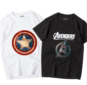 NEW The Avengers Cotton short sleeved T-shirts for men and women students Shirt