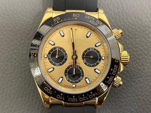 Super orologi 064 Montre de Luxe 40mm * movimento 316 multa specchio di vetro zaffiro cassa in acciaio 13 millimetri orologi Mens quarzo svizzero