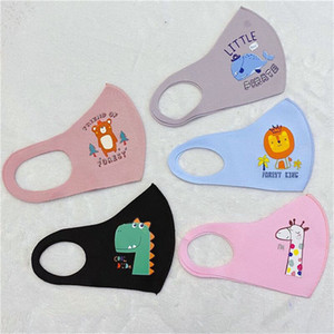 Çocuklar İçin Havalandırma PM2.5 Karşıtı Toz Maske ile Çocuk Çizgi Tek Kullanımlık Koruyucu Yüz Maskeleri Katmanlar Kalınlaşmak Yüz Maskesi