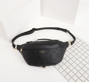 Erkekler kadınlar için Moda Marka harfleri bel çantaları tasarım Lüks bel çantaları bisiklet deri Bel paketleri M43644 BOYUT 47-20-9CM çanta fermuar