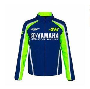 후드 재킷 코튼 레저 오토바이 지퍼 후드 스웨터 타고 YAMAHA 가을과 겨울 새로운 오토바이 경주 셔츠 남성